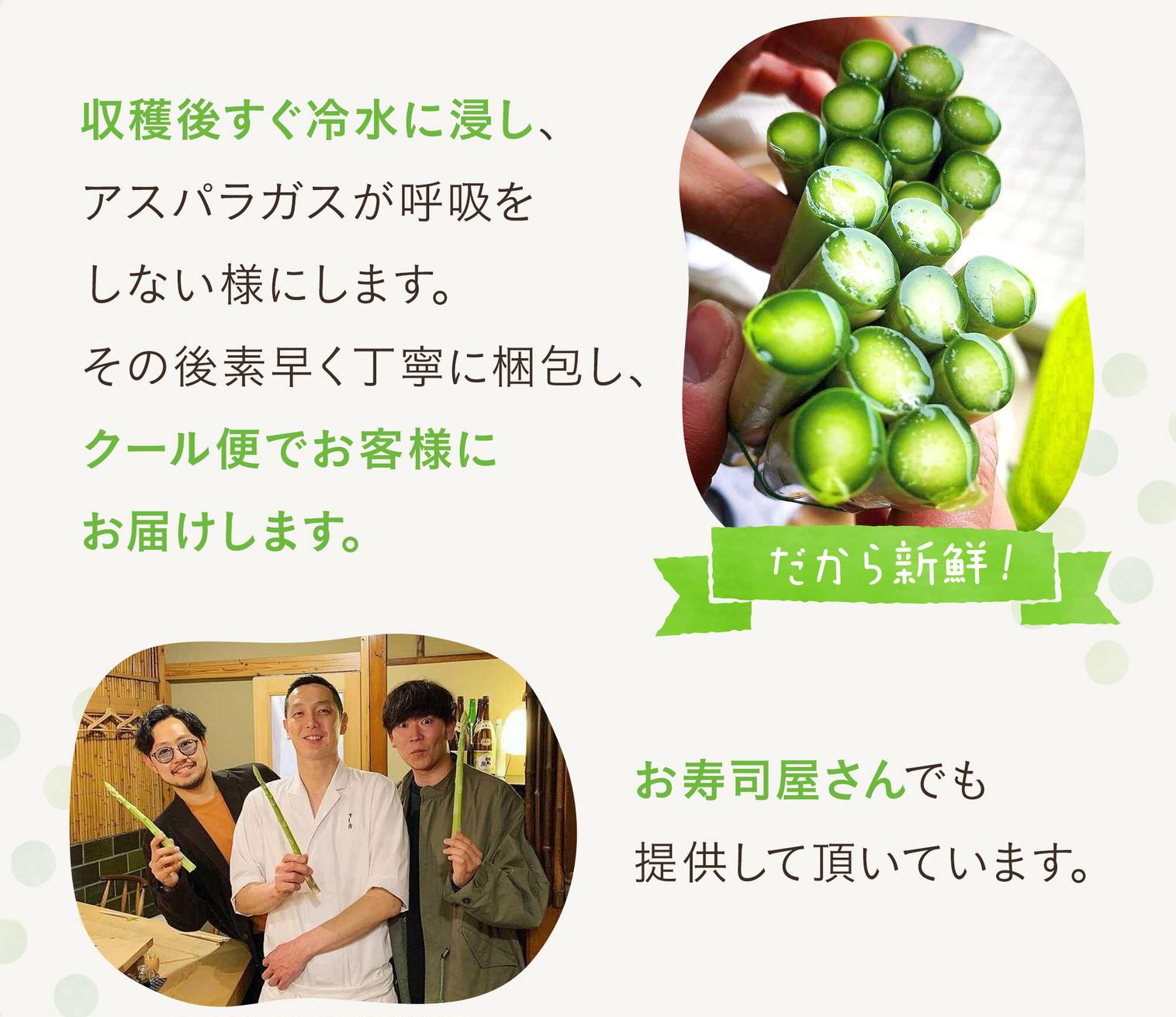 山田杏奈CMにも出演兄弟農家おおもりやの朝採れアスパラガスさぬきのめざめが通販で購入できるのは産直アウルだけ