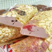【贈り物、ギフトにも🎁】キンド酵素栽培いちごで作った「クレープアイス」 90ml×12個 いちごソース6、パリパリチョコ6 Nakayama Farm KASAKOYA