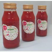 ※トマ糖※太陽のめぐみフルーツトマト糖度9度以上の「フルティカ」100%使用※ピューレにもなるトマトジュース180ml/本を3本 180ml/本*3 飲料(ジュース) 通販