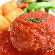お試し 黄金比率 超希少土佐あかうしと四万十ポークのハンバーグ2個トマトソース付 ハンバーグ110g2個 トマトソース100g1個 高知県 通販