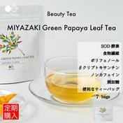〜カラダが喜ぶ栄養満載〜MIYAZAKI Green Papaya Leaf Tea(ティーバッグ7個入り)【送料最安】 10.5g(1.5g×7袋) お茶(その他のお茶) 通販
