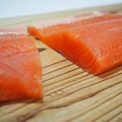 [訳あり]マス刺身用フィレー(サイズ規格外)7kg(21枚) 7kg(21枚) 魚介類(鮭) 通販