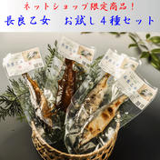 長良乙女お試し4種セット(送料無料) 4パック各1尾入り 魚介類(その他魚介の加工品) 通販