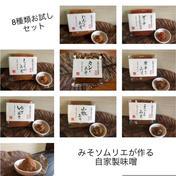 送料無料!みそソムリエが作るおかずみそ8種類セット おかずみそ8種類100g  ×8種類 岐阜県 通販