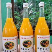 【お中元 夏ギフト】はまださんちの清見ジュース(ストレート)6本セット 完売 720ml×6本 飲料(ジュース) 通販