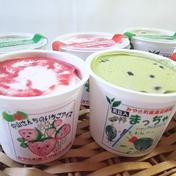 【贈り物、ギフトにも🎁】中山さんちの自然そのまんまアイス 6個入り 120ml×6個 いちご3個、黒豆抹茶3個 Nakayama Farm KASAKOYA