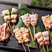 【人気部位‼】安曇野地鶏焼き鳥10本セット!特製タレ・鍋煎り塩付! 上もも・上むね・ささみ・手羽先・首皮 各2本 肉 通販
