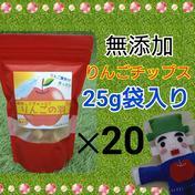 りんごの羽(無添加チップス)*20袋 25g*20袋 山形県 通販
