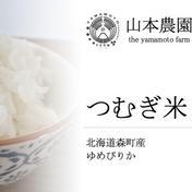 つむぎ米10kg(北海道産ゆめぴりか) 10kg 山本農園