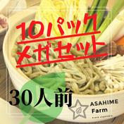あさひめ生うどん✨お中元✨『30人前10パックご近所さんとシェアパック』ジエノベソース3つ付き! 4.5kg 加工品(麺類) 通販