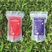 北海道産冷凍ブルーベリー&ラズベリー 500g×2 果物 通販