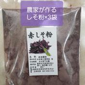「あか紫蘇粉」 80㌘×3袋 三重県 通販