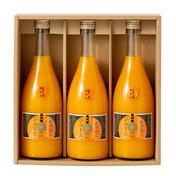 『夏ギフト』和歌山 紀伊路屋 有田のみかん 無添加ストレートジュース 100% 3本セット 720ml×3 飲料 通販