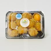 白馬村産食用ほおずき オレンジチェリー 400g(4パック)※1パック10〜12粒 果物や野菜などのお取り寄せ宅配食材通販産地直送アウル