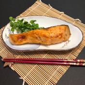 最高級北海道釧路産釣りもの時知らず甘塩切身半身8切(中サイズ) 半身切身8切(約700g〜750g) 魚介類(鮭) 通販