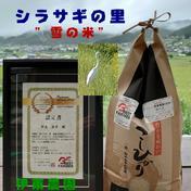 雪の米(コシヒカリ) 5kg 長野県 通販