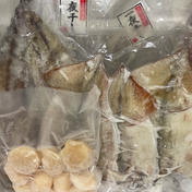 アールエス商店 お買い得 干し魚BBQセットと冷凍刺身ホタテ 約2.5kg
