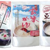 送料込!【母の日・父の日に!】こまちがゆ(280g)、発芽玄米がゆ(250g)、豆乳がゆ(250g)計3袋セット 加工品(セット・詰め合わせ) 通販