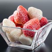 【希少価値 白いちご】パールホワイト&さがほのか 冷凍いちご750g 750g 果物 通販