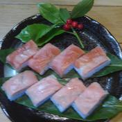 寿司好きにはたまらないサーモン棒寿司本酢〆と生酢〆の二本セット 二本 魚介類(サーモン) 通販
