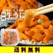 生うに(エゾバフンウニ) 40g 礼文島産 【送料無料】 40g 魚介類(ウニ) 通販