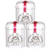 ナカイローズファーム  3缶まとめ買い ローズリーフ薔薇の葉のお茶1.5g✖︎5包 1.5g✖︎5包✖︎3缶