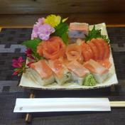 お刺身サーモンと棒寿司セットをお試し価格で販売 1㎏ 魚介類(サーモン) 通販