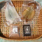 イカ三昧セット 塩辛70g、イカ墨塩辛70g、天日干しイカ1枚、イカ味醂干し1枚 魚介類 通販