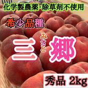 化学製農薬・除草剤不使用  厳選白桃 約2kg 果物や野菜などのお取り寄せ宅配食材通販産地直送アウル