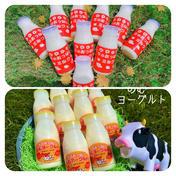 牛のおっぱいミルク5本&のむヨーグルト5本セット 200㎖×5本、150㎖×5本 乳製品(牛乳) 通販
