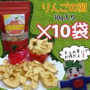 りんごの羽*10袋(無添加りんごチップス) 30g入*10袋 山形県 通販