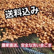 無農薬で丁寧に栽培した、安全な洗い金ごま 200g 群馬県 通販