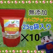 りんごの羽(無添加チップス)*10袋 25g*10袋 果物や野菜などのお取り寄せ宅配食材通販産地直送アウル