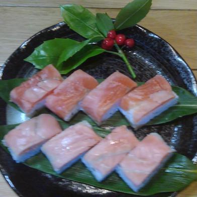 寿司好きにはたまらないサーモン棒寿司本酢〆と生酢〆の二本セット 二本 果物や野菜などのお取り寄せ宅配食材通販産地直送アウル