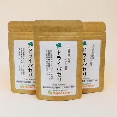【メール便でお届け】貴重な国産ドライパセリ10g×3袋(栽培期間中農薬・化学肥料不使用) ドライパセリ10g×3袋 キーワード: お試し 通販