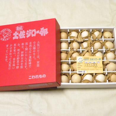 お歳暮 ご贈答品 高知県ブランド卵放し飼い土佐ジローの有精卵25個化粧箱入り 25個 卵 通販
