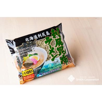 利尻昆布ラーメン【1袋】 113.4g(めん80g、スープ32.4g、とろろ昆布1g) 食材ジャンル: 加工品 > その他加工品 通販