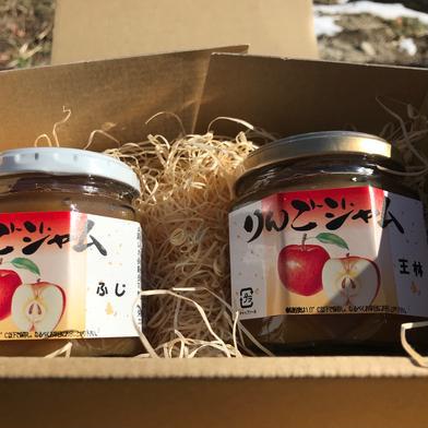 りんごジャムセット(ふじ、王林) 約200g x 2 長野県 通販