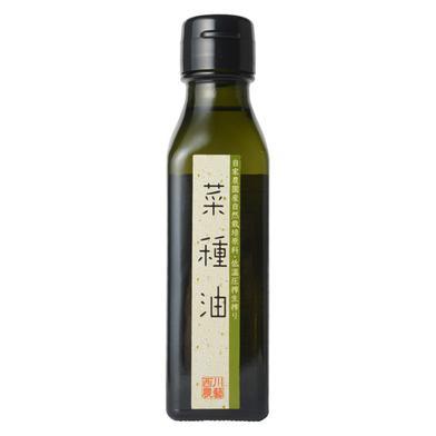 自家農園産自然栽培原料低温圧搾生搾り菜種油 110g 調味料 通販