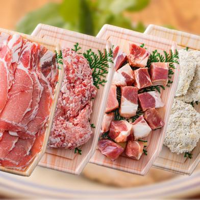 【都城産】栗で育てた「くりぷ豚」スマート肉活セット 900g 0.9kg 肉(豚肉) 通販