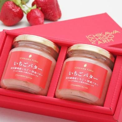 【ギフト】 市川農場いちごバター190g×2個入り 190g×2個入 滋賀県 通販