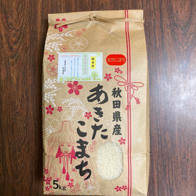 『みんなで頑張ろう米❗️』あきたこまち精米5kg 5kg 秋田県 通販