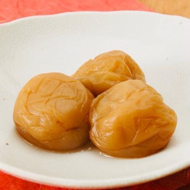 塩分控えめ はちみつリンゴ梅500g(25粒〜30粒) 塩分6% 500g 加工品 通販