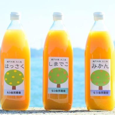 【贈答用】島の柑橘ジュース飲み比べセット(3本入り) 1リットル×3本 飲料(ジュース) 通販