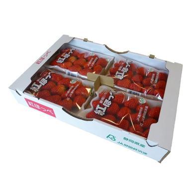 【限定】紅ほっぺ DX300g×4パック Lサイズ300g×2パック 300g×6 果物(いちご) 通販