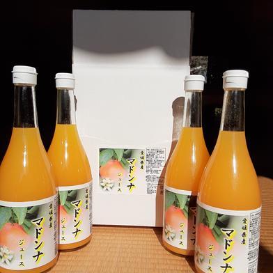 愛媛県産マドンナジュース 720ml×4本 愛媛県 通販