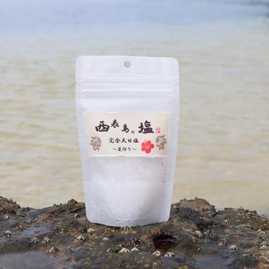 西表島の塩  『完全天日塩』~春づくり~ 100g×2個 調味料 通販