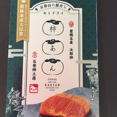 【農林水産大臣賞受賞】柿あん(セミドライ柿) 90g 果物(柿) 通販