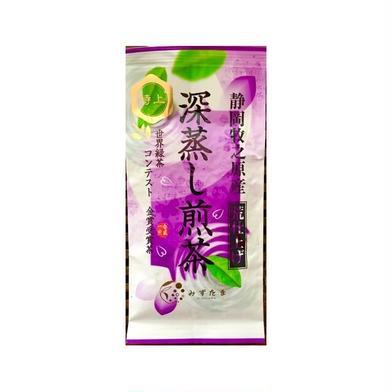 【送料無料】最高級 特上 深蒸し茶 100g 静岡 牧之原 煎茶 100g お茶(緑茶) 通販