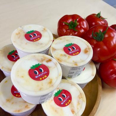 幸せを運ぶ「オリジナル塩とまとアイス」(6個) 100ml×6個 食材ジャンル: 加工品 > その他加工品 通販